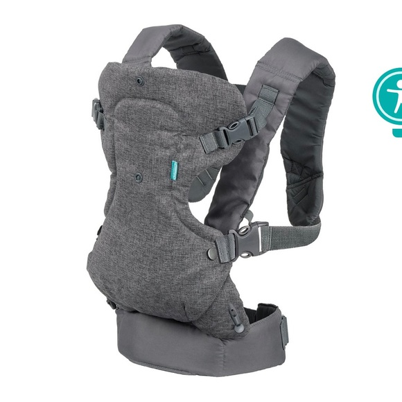 Infantino Other - Infantino Gray Baby Carrier